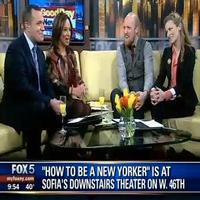 STAGE TUBE: Good Day New York Features HOW TO BE A NEW YORKER