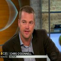 STAGE TUBE: Chris O'Donnell Talks NCIS, Family, and More on CBS This Morning!
