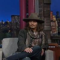 VIDEO: 'Lone Ranger's Johnny Depp Rocks Out on LETTERMAN