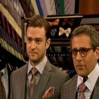VIDEO: Justin Timberlake, Steve Carell  Sell Menswear on Last Night's JIMMY FALLON
