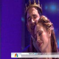STAGE TUBE: CINDERELLA's Laura Osnes & Santino Fontana Sing 'Do I Love You Because You're Beautiful?' on TODAY SHOW