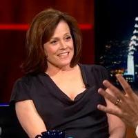 VIDEO: Sigourney Weaver Chats VANYA & SONIA on COLBERT