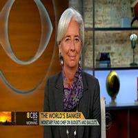 VIDEO: IMF Director Lagarde Chats European Economy on CBS
