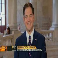 VIDEO: Sen. Marco Rubio Talks Immigration on CBS THIS MORNING