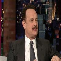VIDEO: Tom Hanks Chats LUCKY GUY on 'Letterman'