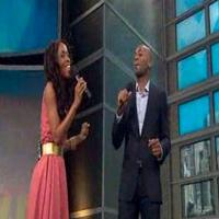 STAGE TUBE: MOTOWN's Brandon Victor Dixon and Valisia LeKae Perform on 'Melissa Harris-Perry'