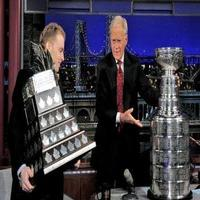 VIDEO: Blackhawks' Patrick Kane Talks Stanley Cup on Tonight's LETTERMAN