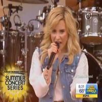 VIDEO: Demi Lovato Performs 'Heart Attack' & More on GMA