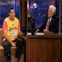 VIDEO: Adam Sandler Visits TONIGHT SHOW WITH JAY LENO