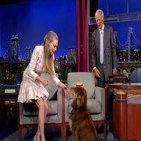 VIDEO: Amanda Seyfried's Talented Dog Wows LETTERMAN