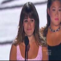 VIDEO: Lea Michele Accepts Award and Makes Heartfelt Speech at TEEN CHOICE AWARDS