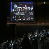 VIDEO: Watch JIMMY KIMMEL Appear Live at CMA's Via Hologram!
