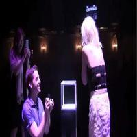 STAGE TUBE: Andy Kelso of KINKY BOOTS Proposes to Sheila Coyle on Stage!