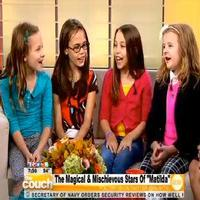 STAGE TUBE: MATILDA's Leading Ladies Talk Pre-Show Rituals & Perform 'Naughty' on LIVE FROM THE COUCH