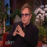 VIDEO: Elton John Talks Miley Cyrus, Lady Gaga on ELLEN