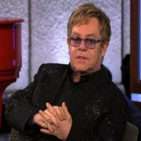 VIDEO: Elton John Chats New Album on JIMMY KIMMEL