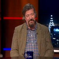 VIDEO: Stephen Fry Talks TWELFTH NIGHT on 'Colbert'