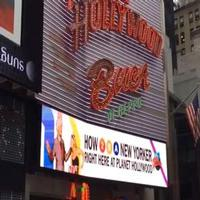 STAGE TUBE: HOW TO BE A NEW YORKER's New Marquee Up at Planet Hollywood Times Square