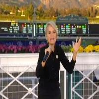 STAGE TUBE: Kristin Chenoweth Sings 'The Best Is Yet to Come' at Breeder's Cup