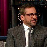 VIDEO: 'Anchorman 2's Steve Carrell Recalls Bad X Mas Memory on LETTERMAN