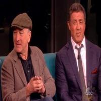VIDEO: Sylvester Stallone, Robert DeNiro Talk New Film GRUDGE MATCH on 'The View'