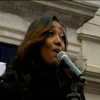 VIDEO: Patina Miller Performs; Cynthia Nixon Speaks at Mayor Bill de Blasio's Inauguration