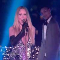 VIDEO: Mariah Carey Confirms New Single; Performs Hits Medley