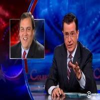 VIDEO: Stephen Talks Chris Christie's GW Bridge Scandal on COLBERT