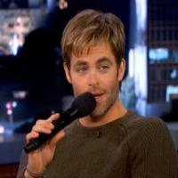 VIDEO: 'Into the Woods' Star Chris Pine Croons Sinatra on KIMMEL