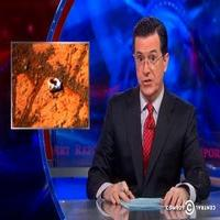 VIDEO: Stephen Talks Donuts on Mars on THE COLBERT REPORT
