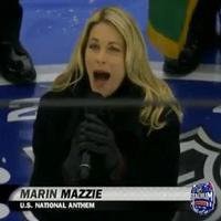 VIDEO: Marin Mazzie Sings National Anthem to Open NHL Stadium Series
