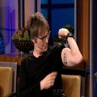 VIDEO: Dana Carvey Shows Off His Jay Leno Tattoo on TONIGHT SHOW