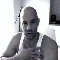 VIDEO: Vin Diesel Thanks Fans with Facebook Dance Video!
