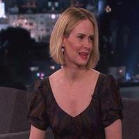 VIDEO: Sarah Paulson Talks '12 Years a Slave' & More KIMMEL