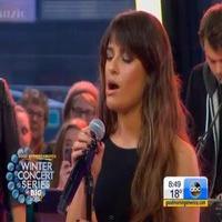 VIDEO: Lea Michele Performs 'Battlefield' on GMA