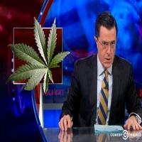 VIDEO: Stephen Talks Recreational Marijuana on COLBERT