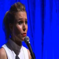 STAGE TUBE: Kristen Bell Sings FROZEN's 'Do You Want to Build a Snowman?'