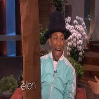 VIDEO: Sneak Peek - Ellen Has an Even Taller Hat for Pharrell on Today's ELLEN