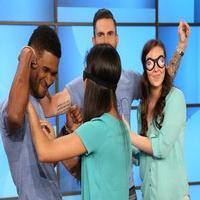 VIDEO: Sneak Peek - Adam Levine & Usher Stop By Today's ELLEN