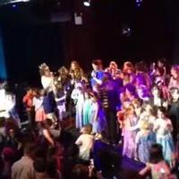 VIDEO: Idina Menzel & Lopez Team Lead FROZEN Sing-Along at Broaderway Benefit