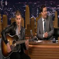 VIDEO: Andrew Garfield Nails His TV Singing Debut on JIMMY FALLON