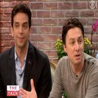 VIDEO: Zach Braff & Nick Cordero Chat BULLETS OVER BROADWAY on 'The Talk'