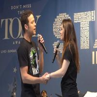 BWW TV: Justin Guarini & Christine Dwyer Sing WICKED at STARS IN THE ALLEY