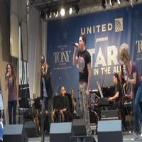 BWW TV: ROCK OF AGES Cast Rocks Out at STARS IN THE ALLEY
