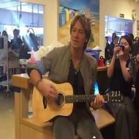 VIDEO: Keith Urban & Nicole Kidman Surprise Children's Hospital with Musical Performance