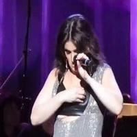 VIDEO: Idina Menzel Handles Wardrobe Malfunction Like a Pro!