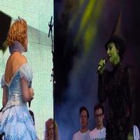 STAGE TUBE: Willemijn Verkaik and Savannah Stevenson Sing WICKED at WEST END LIVE 2014