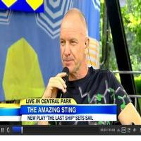 VIDEO: Sting Talks New Gig as LAST SHIP Composer & Lyricist on GMA