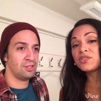 STAGE TUBE: RENT Warm-Up #3 with Lin-Manuel Miranda and Karen Olivo