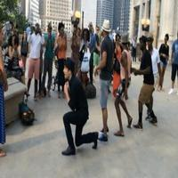 STAGE TUBE: Chicago Company of MOTOWN Pulls off Mini-Flash Mob!